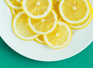 Zuppa di lenticchie con succo di arancia